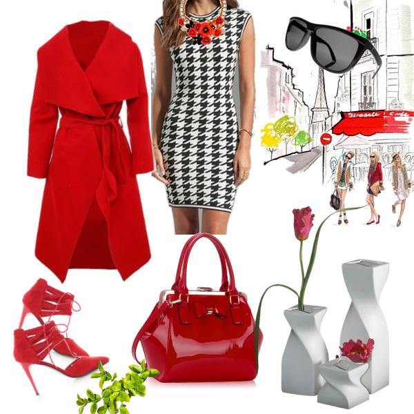červená dáma