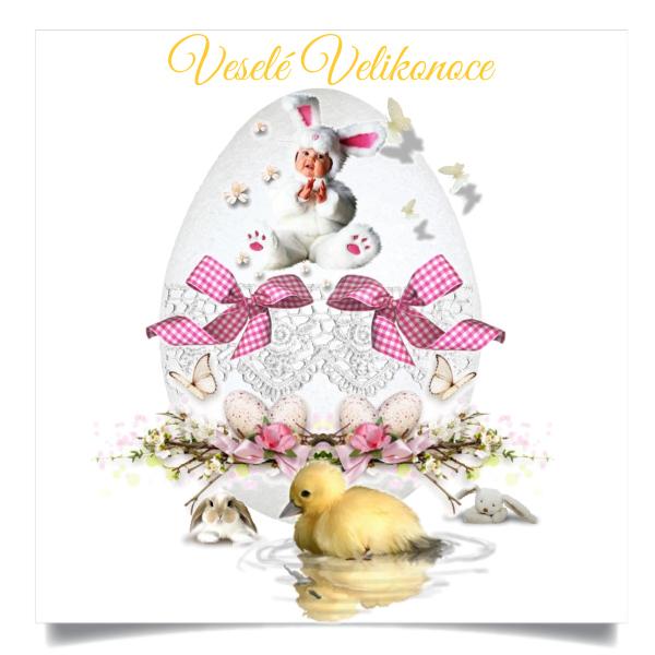 Veselé Velikonoční svátky Vám všem přeje Anna J.