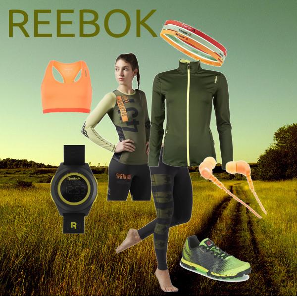 výběh s Reebokem...