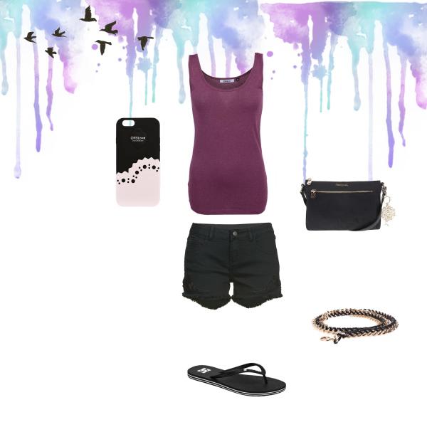 Pohodlný letní outfit