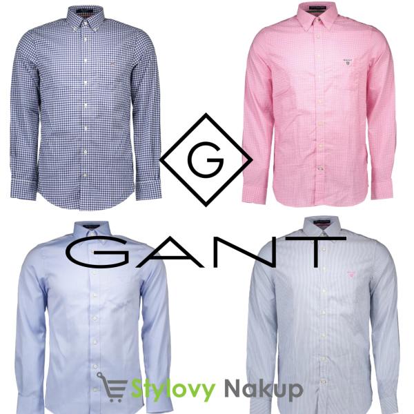 Nové košile Gant - Stylovynakup.cz