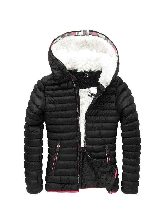 Dámská zimní bunda - černá - Glami.cz 189842b6c0c