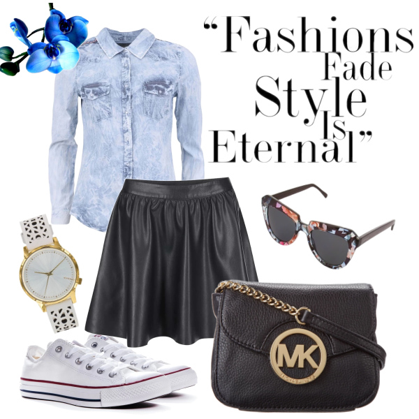 Jarní casual outfit