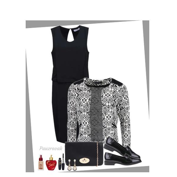 Krásná v černých šatech :)