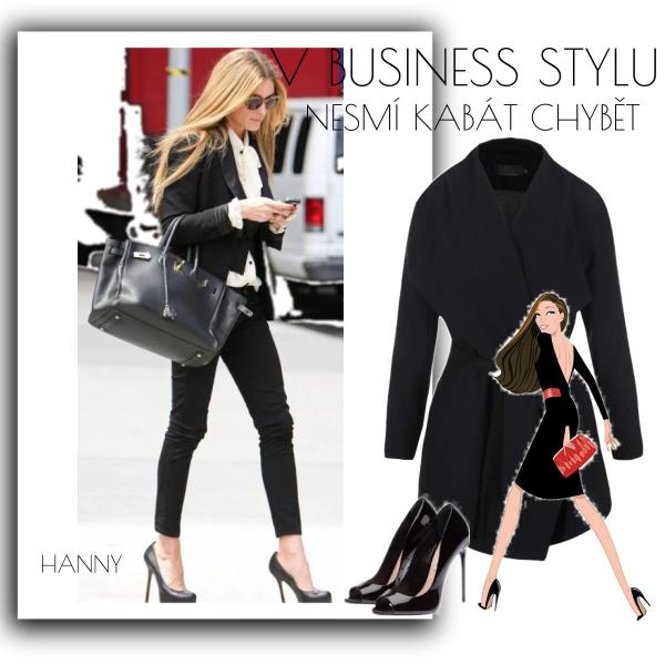 V business stylu nesmí kabát chybět......