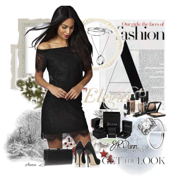 Malé černé šaty.