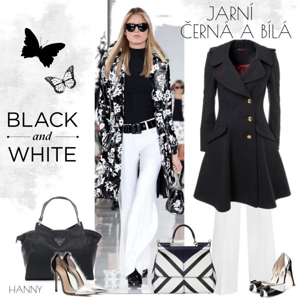 Jarní černá a bílá..............
