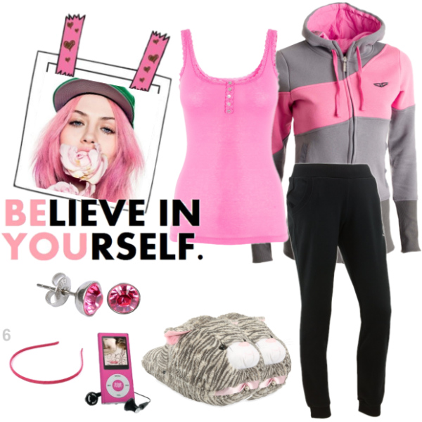 grey - pink relax