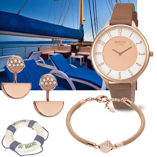 Na palubu jedině s hodinkami Boccia... :)