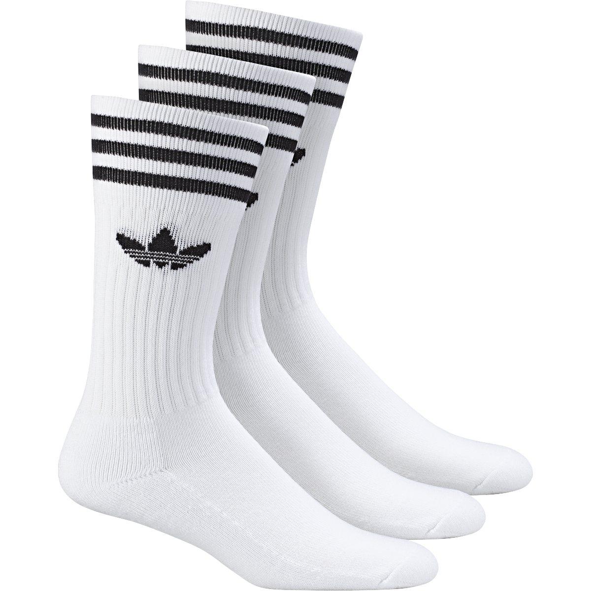 adidas Solid Crew Sock 3 Pack bílá 27-30 - Glami.cz 8f8d773ef4