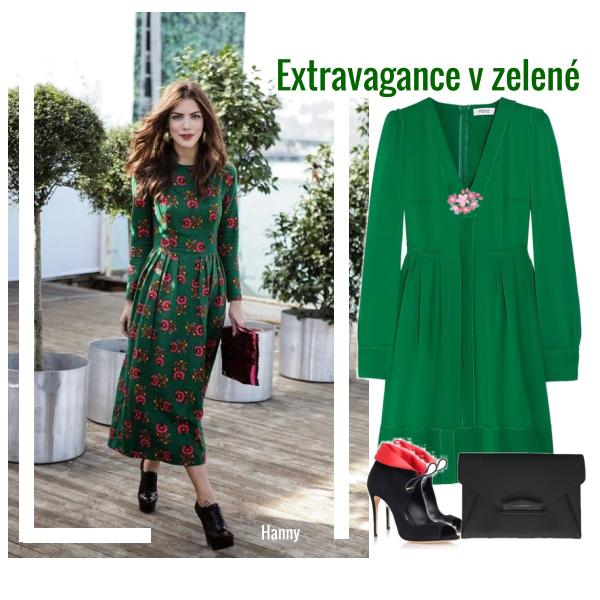 Extravagance v zelené...