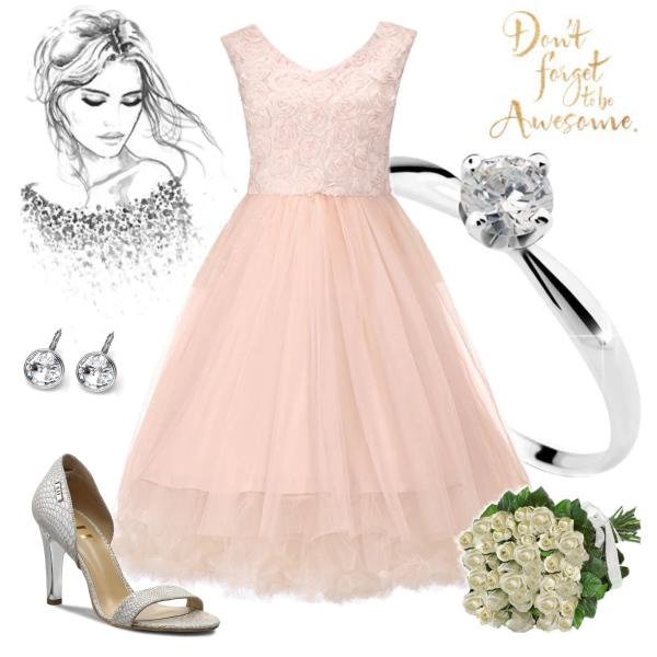 Romantické šaty pro vílu