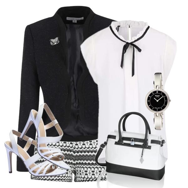 elegantním stylu