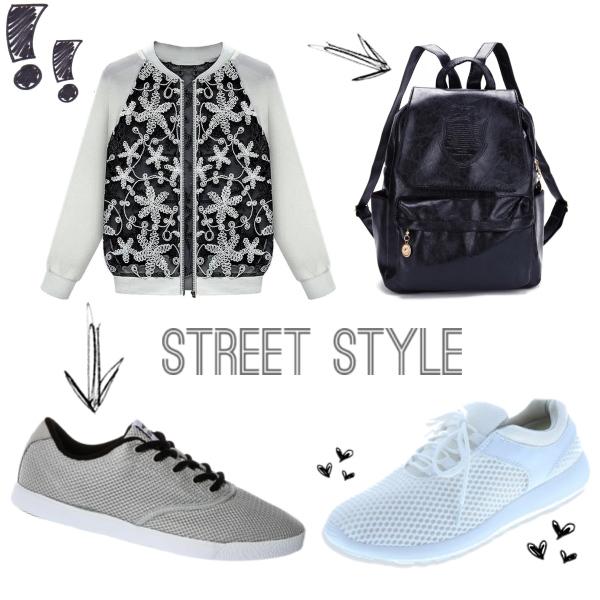 Black & Grey & White