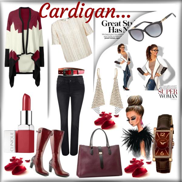 Cardigan...