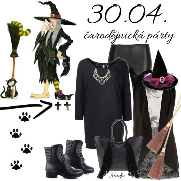 čarodějnická párty