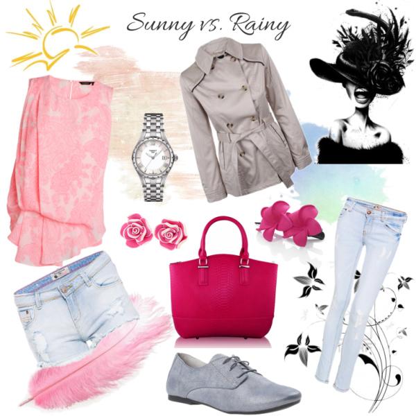 Sunny vs. rainy