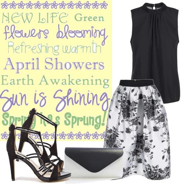 sukně do jara
