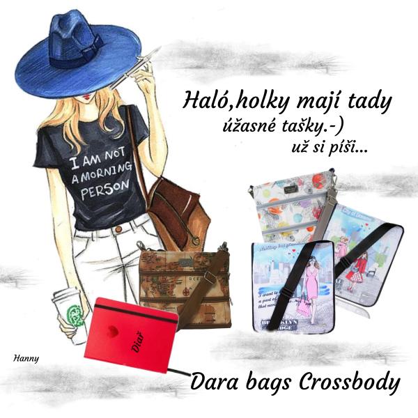 Úžasné tašky Dara bags..........