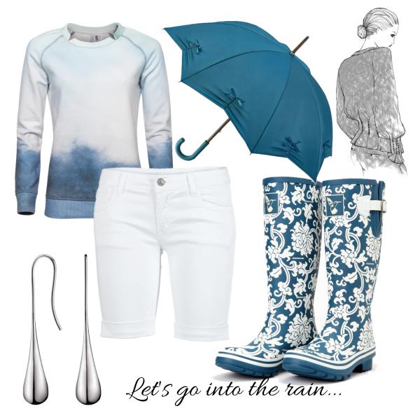 Let's go into the rain...