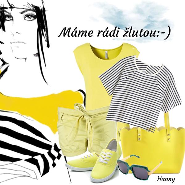 Máme rádi žlutou:-)))