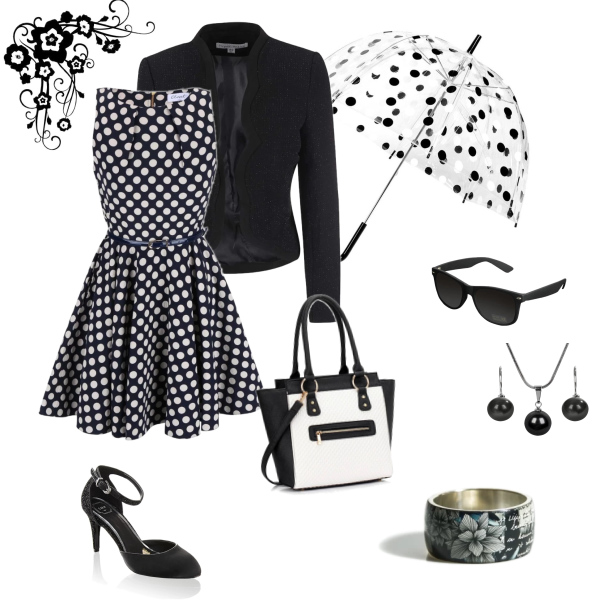 Černobílá elegance