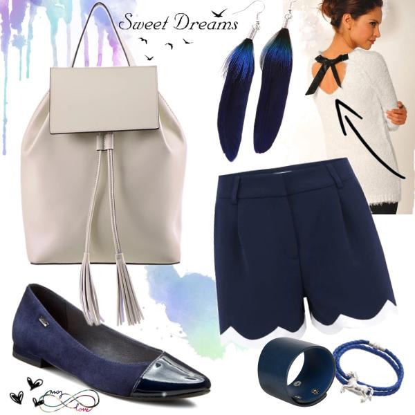 Elegantní s batohem