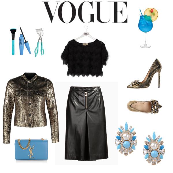 Carrie chez Vogue