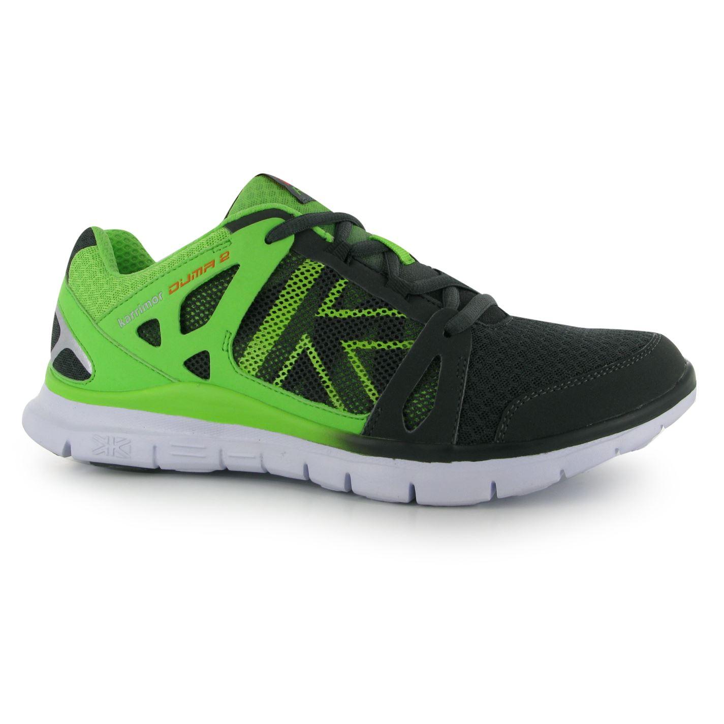 8f429382f boty Karrimor Duma 2 pánské Running Shoes Charcoal/Green - Glami.cz