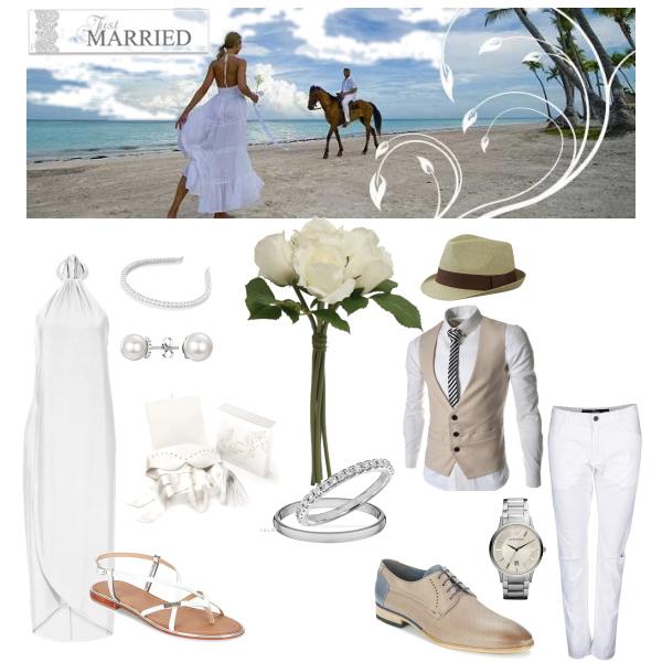 Svatba na pláži