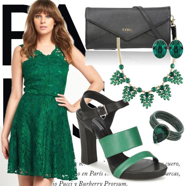 krásná zelená