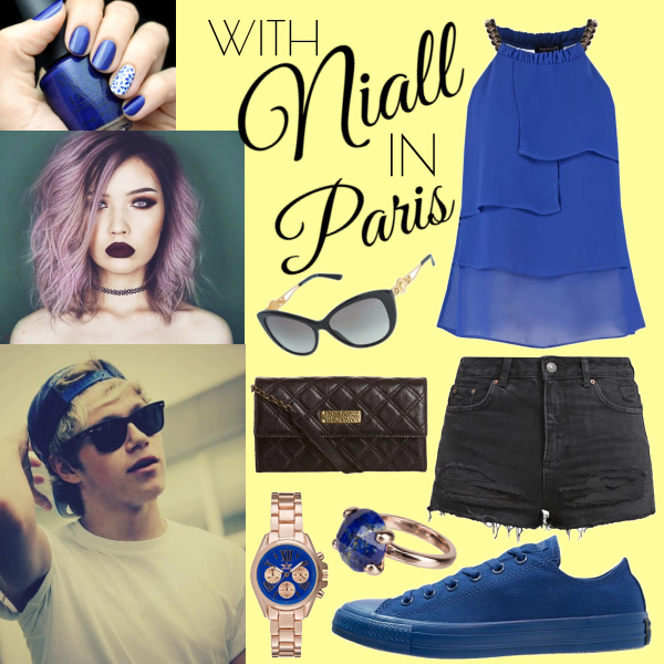 With Niall in paris