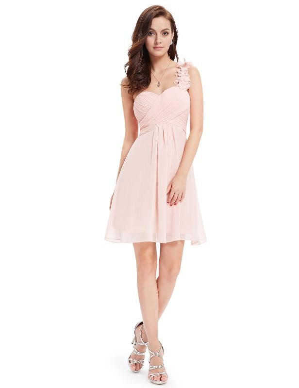 3fbb9e173bc8 Ever Pretty šifonové šaty krátké růžové 3535 - Glami.cz