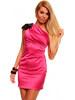 Růžové pouzdrové šaty do společnosti