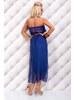 Šifónové šaty s páskem