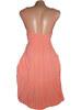 Letní šaty extra lehké - losos