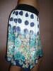 Sukně květovaná s puntíky
