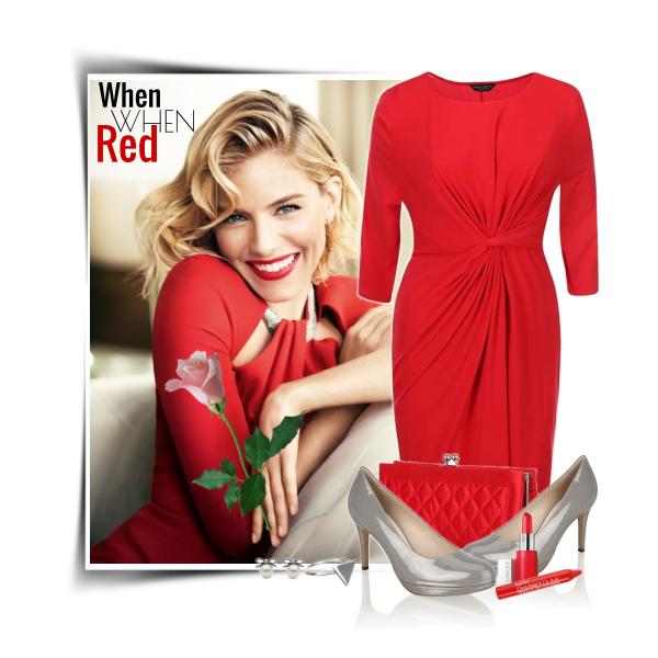 Červené šaty v každém stylu.