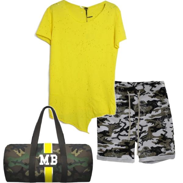 Letní stylový outfit.
