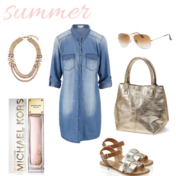 Summer day in denim