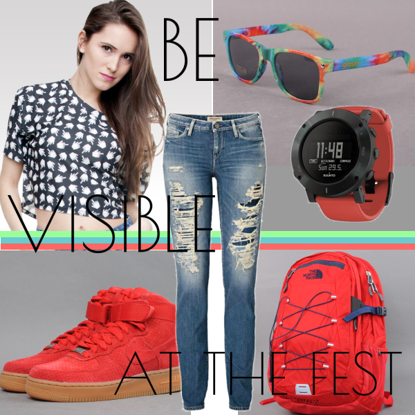 be visible at the fest
