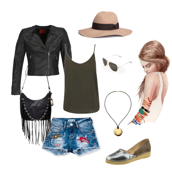 letní style šortky