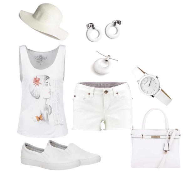 luxusní bílá