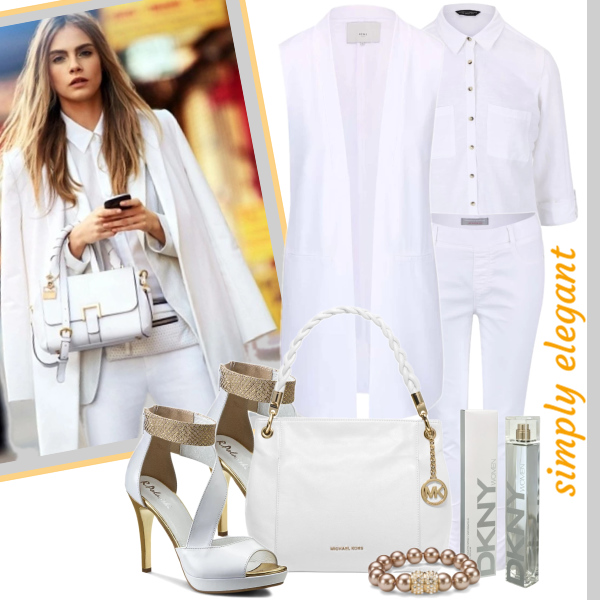 All in white simply elegant