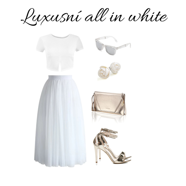 luxusní all in white
