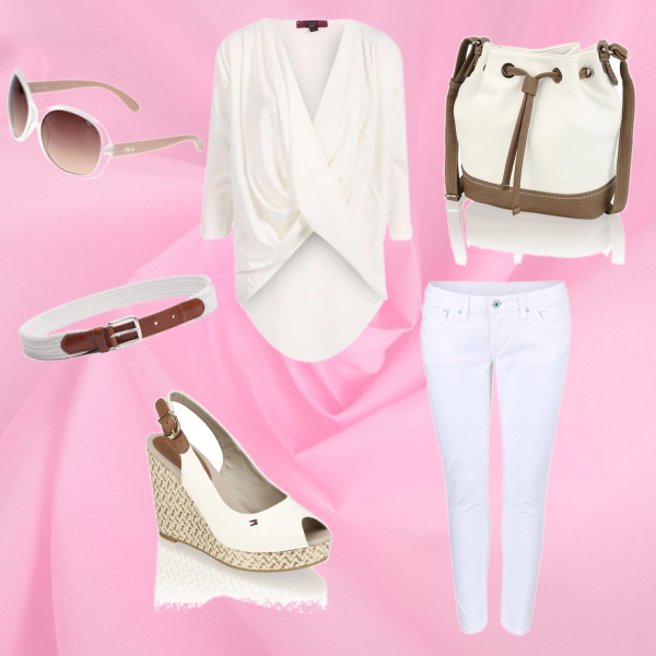 I love white and nature style...