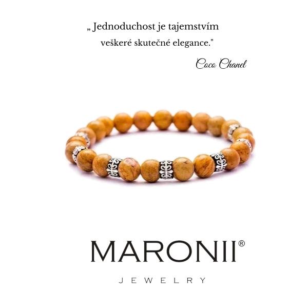 Maronii náramek