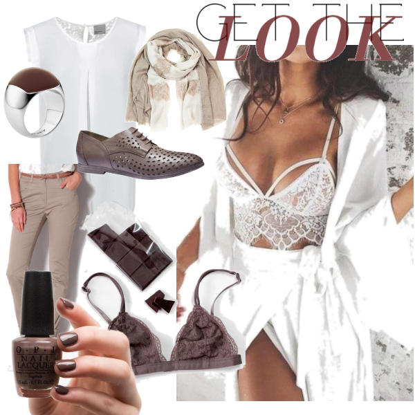 chocolate outfit..