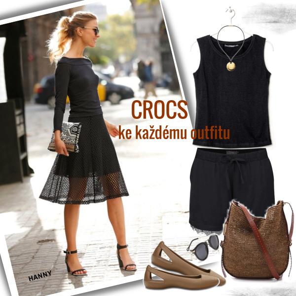 CROCS..ke každému outfitu