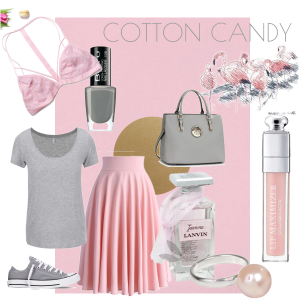 cotton candy...